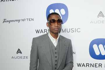 Raphael Saadiq Warner Music Group's Celebration For The 58th Annual Grammy Awards - Arrivals