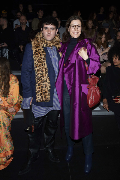 Roberto Diz -Front Row - Mercedes Benz Fashion Week Madrid Autumn/Winter 2020-21