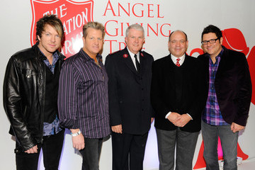 Rick Jones Rascal Flatts Angel Giving Tree Toy Drive at JCPenney