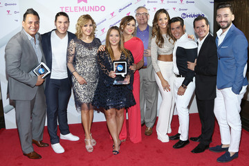Rashel Diaz Backstage at Telemundo's 'Premios Tu Mundo' Awards 2015