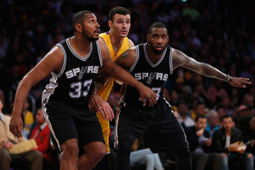 Rasual Butler San Antonio Spurs v Los Angeles Lakers