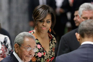 Raul Castro Cuban Leader Raul Castro Hosts State Dinner for President Obama