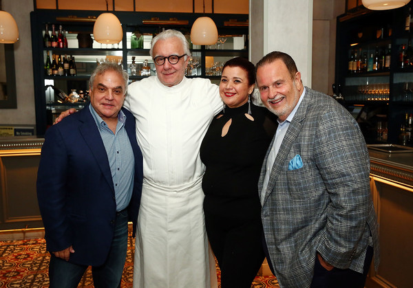 Food Network & Cooking Channel New York City Wine & Food Festival Presented By Capital One - Benoit 10th Anniversary Dinner With Alain Ducasse And Laetitia Rouabah Part Of the Bank of America Dinner Series Presented By The Wall Street Journal