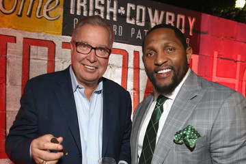 Ray Lewis Crown Royal Bag Stuffing Event at Cigars with the Stars Party