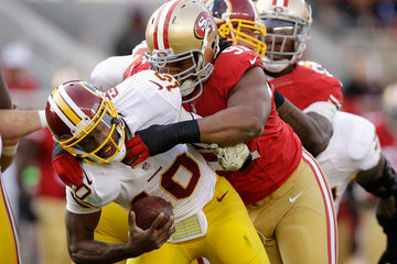 Ray McDonald Washington Redskins v San Francisco 49ers