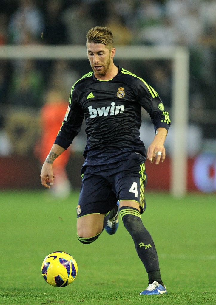 Sergio ramos photos photos real betis balompie v real - Sergio madrid ...