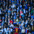 Neymar of FC Barcelona looks on during the La Liga match between RCD Espanyol and FC Barcelona at Cornella-El Prat Stadium on January 2, 2016 in Barcelona, Spain.