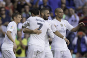Karim Benzema and Pepe Photos Photo