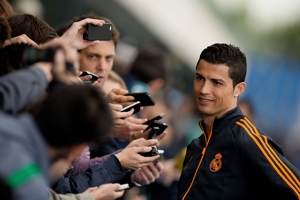 cristiano ronaldo photos photos uefa champions league