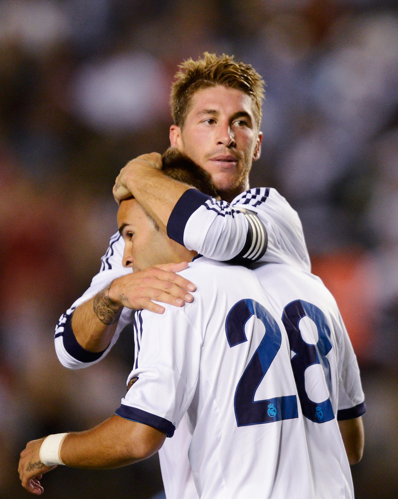 Sergio ramos photos photos real madrid v los angeles - Sergio madrid ...