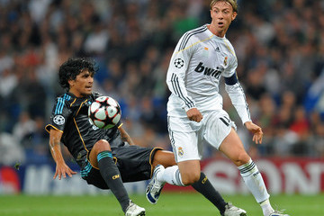 Lucho Real Madrid v Marseille - UEFA Champions League