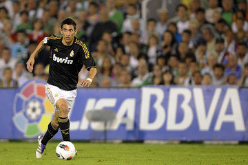 Angel Fabian Di Maria Real Racing Club v Real Madrid CF  - Liga BBVA