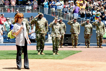 Reba McEntire City of Hope Celebrity Softball Game - Game