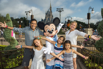 Rebecca Gupta Dr. Sanjay Gupta and Family Visit Walt Disney World Resort