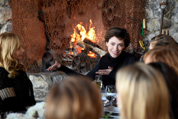 Rebecca Hall Glamour's Women Rewriting Hollywood Lunch At Sundance Hosted By Lena Dunham, Jenni Konner And Cindi Leive - 2016 Park City