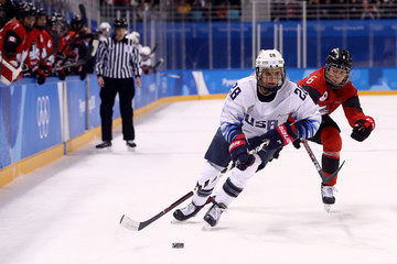 Rebecca Johnston Ice Hockey - Winter Olympics Day 6