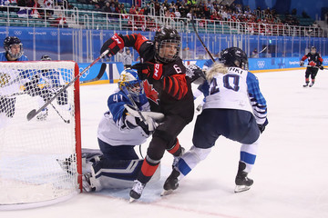 Rebecca Johnston Ice Hockey - Winter Olympics Day 4