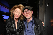 """Ondi Timoner and Ron Howard attends the """"Rebuilding Paradise"""" Sundance Premiere Reception at Tupelo on January 24, 2020 in Park City, Utah."""
