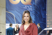 Mandy Capristo arrives for the 20th GQ Men of the Year Award at Komische Oper on November 8, 2018 in Berlin, Germany.