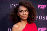 """Janet Mock  attends the red carpet event for FX's """"Pose"""" at Pacific Design Center on August 09, 2019 in West Hollywood, California."""