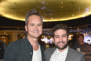 """Head of Amazon Video, Roy Price (L) and Head of Amazon Comedy, Joe Lewis attend the Red Carpet Premiere Screening For Season Two Of Multi-Golden Globe And Emmy Award-Winning Amazon Original Series """"Transparent"""" on November 9, 2015 in Los Angeles, California."""