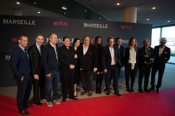 Reed Hastings 'Marseille' Netflix TV Series Wold Premiere at Palais Du Pharo in Marseille