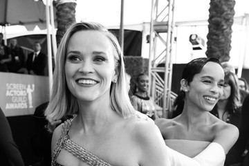 Reese Witherspoon Zoë Kravitz 26th Annual Screen ActorsGuild Awards - Red Carpet