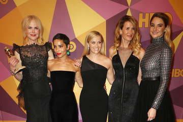Reese Witherspoon Zoe Kravitz HBO's Official Golden Globe Awards After Party - Arrivals