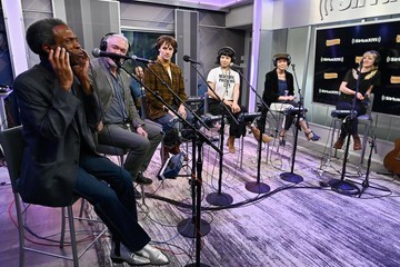 Reeve Carney Eva Noblezada SiriusXM's 'On Broadway Curtain Call With The Cast Of Hadestown'