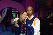 Ellen Pompeo (L) and Lena Waithe attend Refinery29 Presents 29Rooms Los Angeles 2018: Expand Your Reality at The Reef on December 4, 2018 in Los Angeles, California.