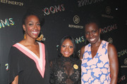 """(L-R) Franchesca Ramsey, Naturi Naughton and Adepero Oduye attend Refinery29's Second Annual New York Fashion Week Event, """"29Rooms"""" on September 8, 2016 in Brooklyn, New York."""