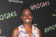 """Adepero Oduye attends Refinery29's Second Annual New York Fashion Week Event, """"29Rooms"""" on September 8, 2016 in Brooklyn, New York."""