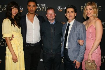 Rege-Jean Page Paul William Davies Premiere Of ABC's 'For The People' - Arrivals