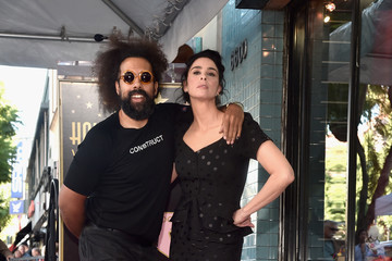 Reggie Watts Sarah Silverman Is Honored With A Star On The Hollywood Walk Of Fame