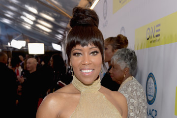 Regina King 48th NAACP Image Awards -  Red Carpet