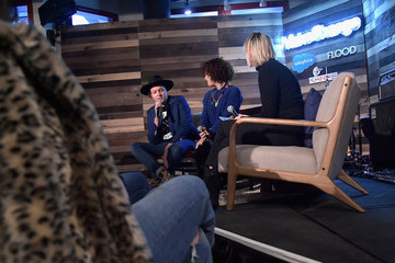 Regine Chassagne Salesforce's #MakeChangeSeries Happy Hour With KCRW's Anne Litt In Conversation With Win Butler And Régine Chassagne Of Arcade Fire