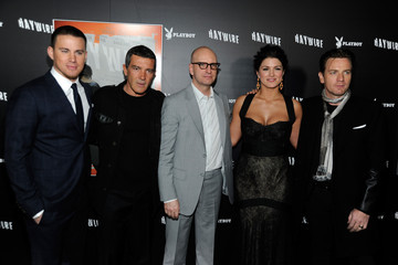 """Gina Carano Ewan McGregor Relativity Media's """"Haywire"""" Premiere Co-Hosted By Playboy - Red Carpet"""