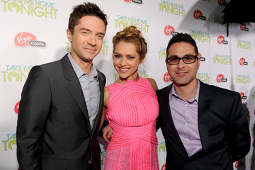 """Topher Grace Teresa Palmer Relativity Media Presents The Premiere Of """"Take Me Home Tonight"""" - Red Carpet"""