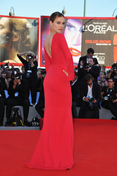 "Actress Kasia Smutniak attends ""The Reluctant Fundamentalist"" Premiere And Opening Ceremony during the 69th Venice International Film Festival at Palazzo del Cinema on August 29, 2012 in Venice, Italy."