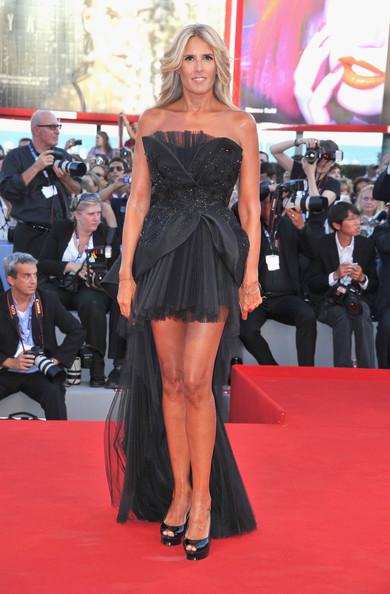 "Tiziana Rocca attends ""The Reluctant Fundamentalist"" Premiere And Opening Ceremony during the 69th Venice International Film Festival at Palazzo del Cinema on August 29, 2012 in Venice, Italy."