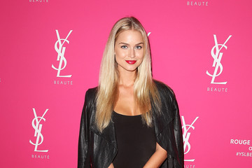 Renae Ayris Celebrities Attend the YSL Beauty Launch