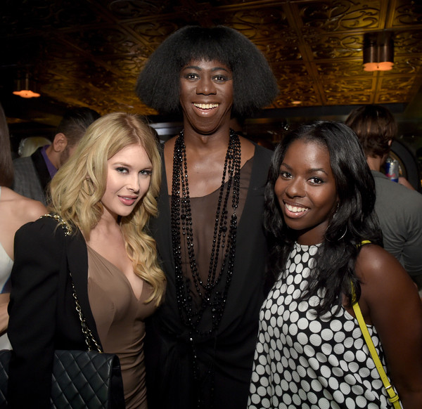 Guests Attend the 'America's Next Top Model' Cycle 22 Premiere Party, Presented by OPPO and NYLON [americas next top model,fashion,event,fun,nightclub,fashion design,party,long hair,j. alexander,renee olstead,camille winbush,nylon,l-r,west hollywood,california,oppo,cycle 22 premiere party]