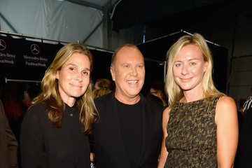 Renee Rockefeller MBFW: Backstage at Michael Kors
