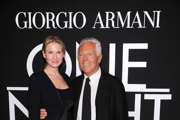Renee Zellweger Arrivals at the Giorgio Armani SuperPier Show