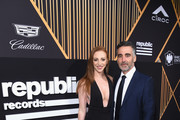Alisa Jacobs (L) and Republic Records President, Chief Operating Officer, and Co-FounderAvery Lipman attend Republic Records Celebrates the GRAMMY Awards in Partnership with Cadillac, Ciroc and Barclays Center at Cadillac House on January 26, 2018 in New York City.