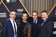 Republic Records co-founder Avery Lipman, Luis Fonsi, Republic Records Chairman, CEO, and Co-Founder Monte Lipman and Chairman and CEO UMLE Jesus Lopez attend Republic Records Celebrates the GRAMMY Awards in Partnership with Cadillac, Ciroc and Barclays Center at Cadillac House on January 26, 2018 in New York City.