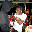 Bryan Williams and Jacquees Photos