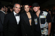 (L-R) Founder and CEO of Republic Records, Monte Lipman, Jessie J and Channing Tatum attend Republic Records Grammy After Party at 1 Hotel West Hollywood on January 26, 2020 in West Hollywood, California.