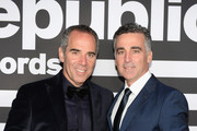 CEO of Republic Records Monte Lipman and President and Chief Operating Officer of Republic Record Avery Lipman attend Republic Records Grammy after party at Spring Place Beverly Hills on February 10, 2019 in Beverly Hills, California.