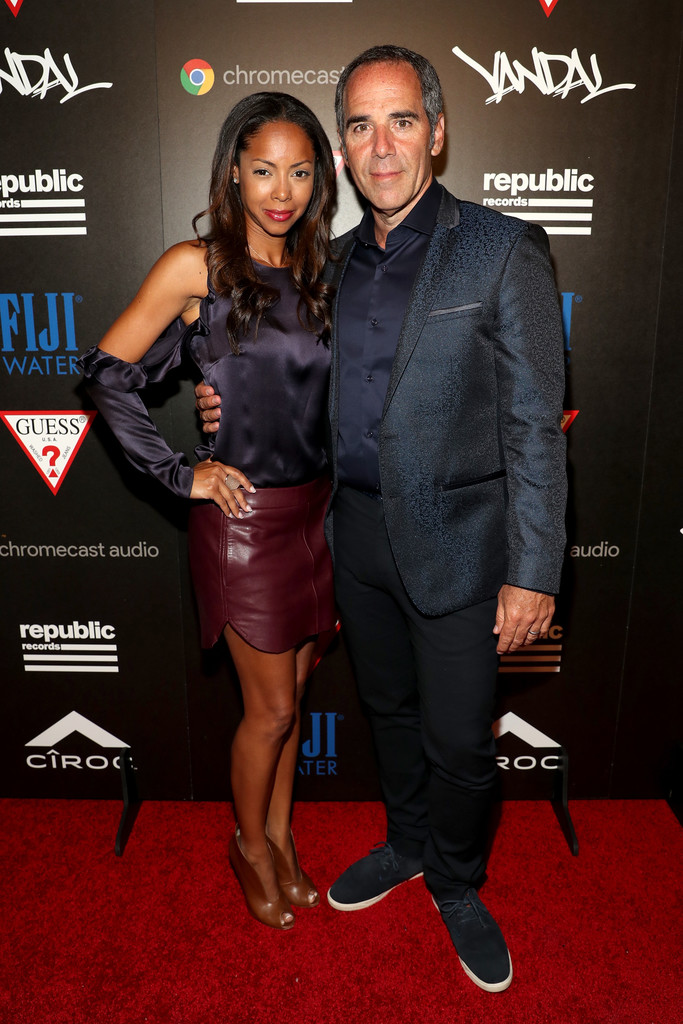Monte Lipman Photos - Republic Records and Guess Celebrate